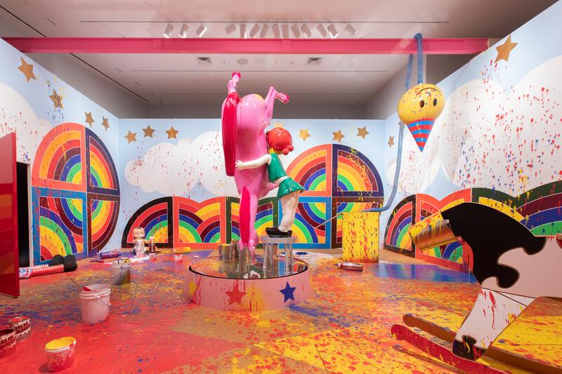 'Big Ideas. Richard Jackson's Alleged Paintings' Crocker Museum 2019 43