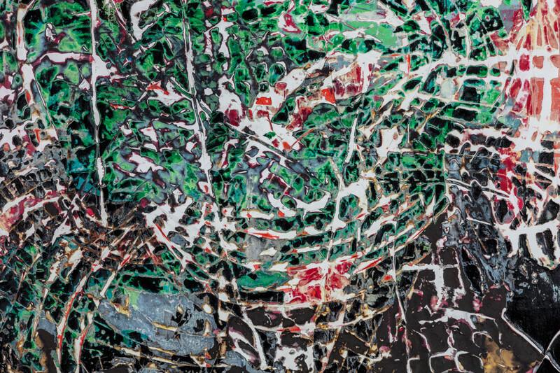 Artwork related to exhibition: Mark Bradford Quarantine Paintings